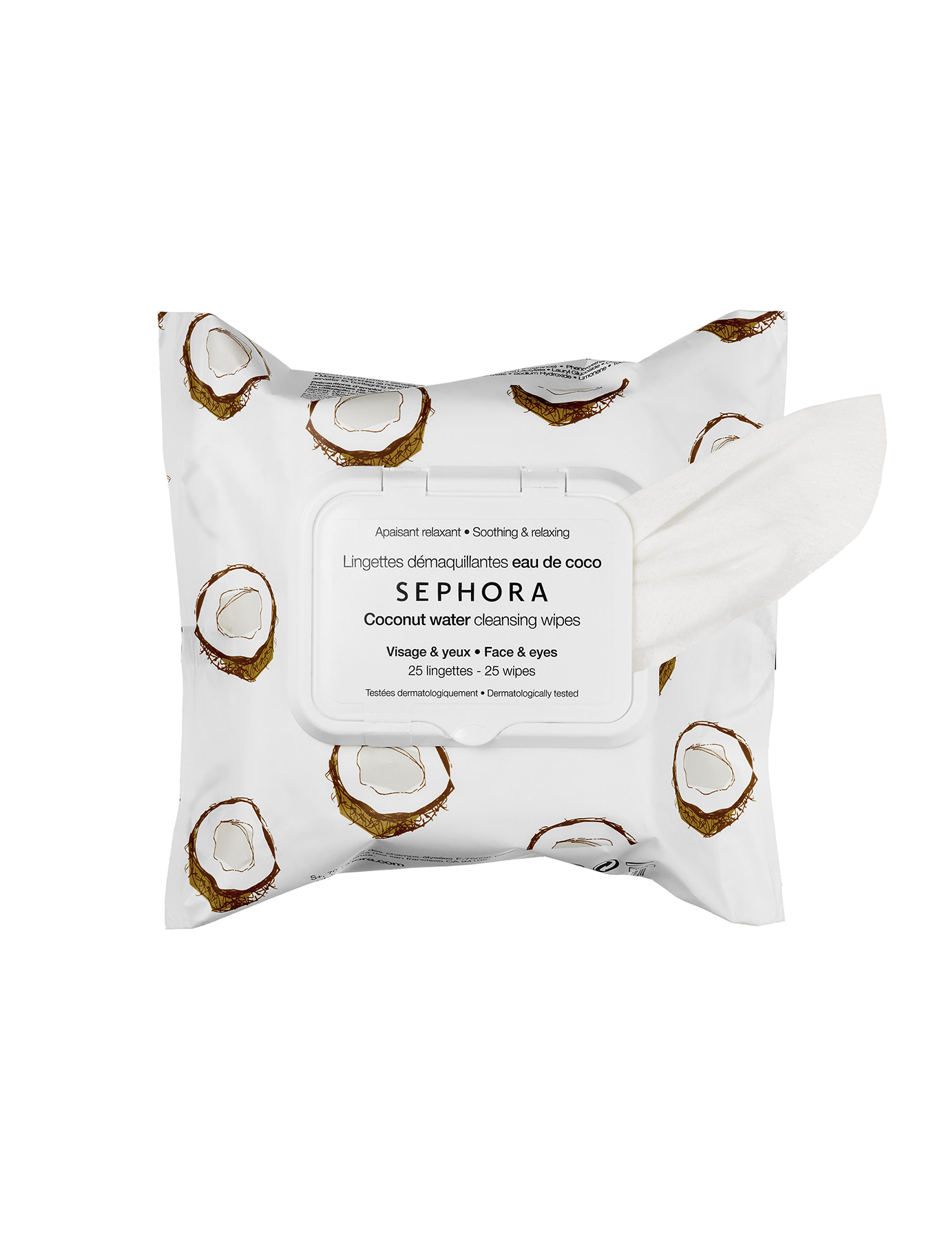 Sephora Collection Coconut Water Cleansing Wipes