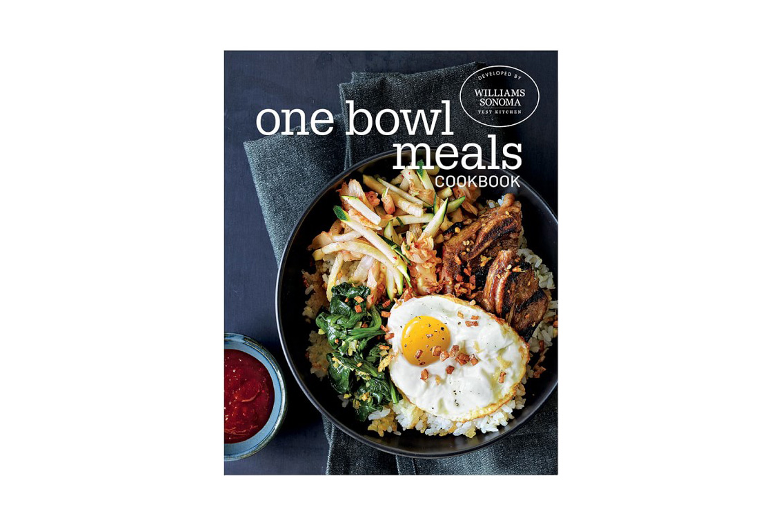 One Bowl Meals Cookbook by Williams Sonoma Test Kitchen
