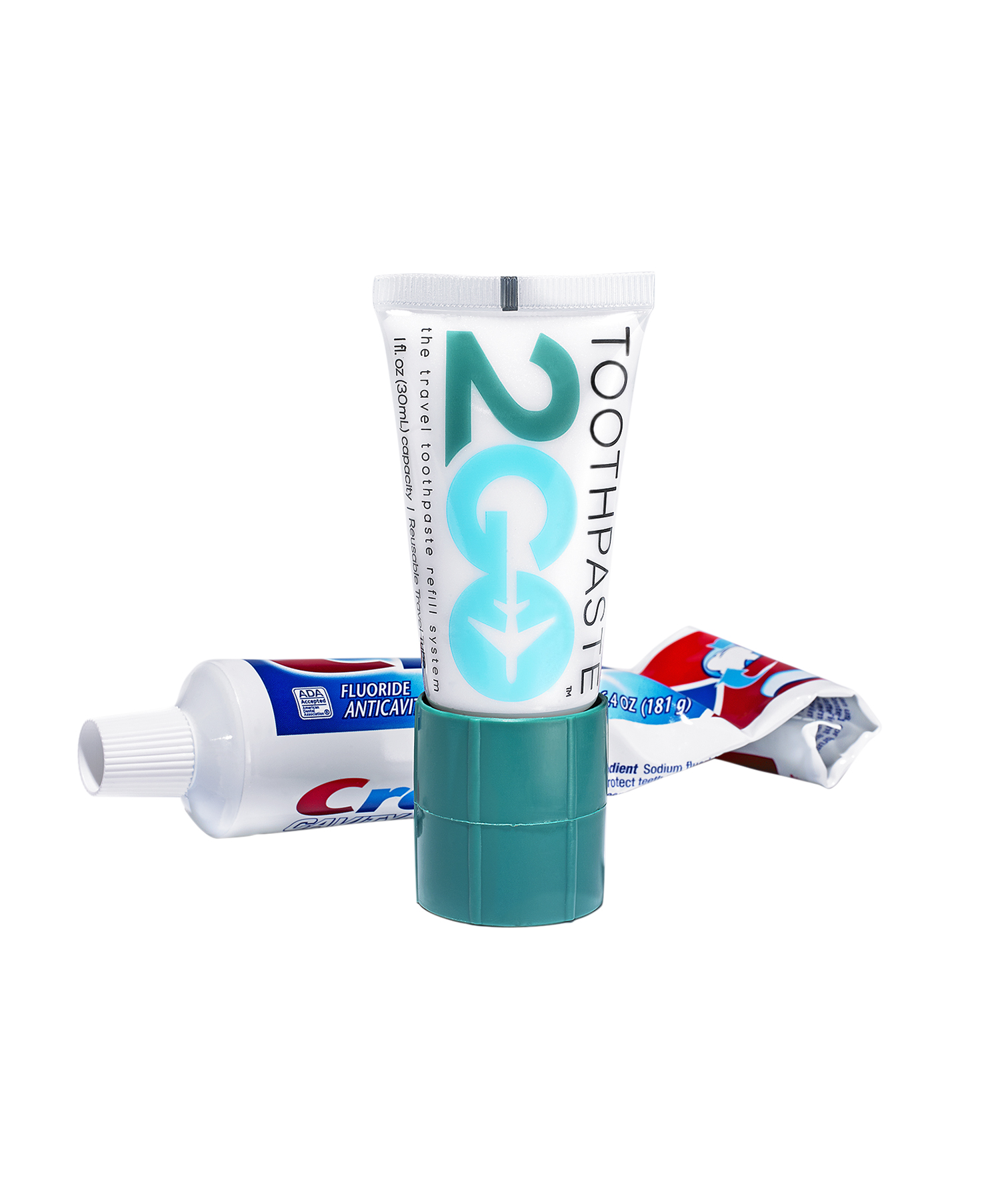 Travel Toothpaste Adapter