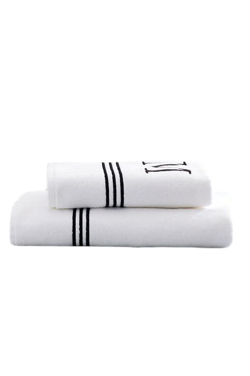 Grand Embroidered Organic Hand Towel