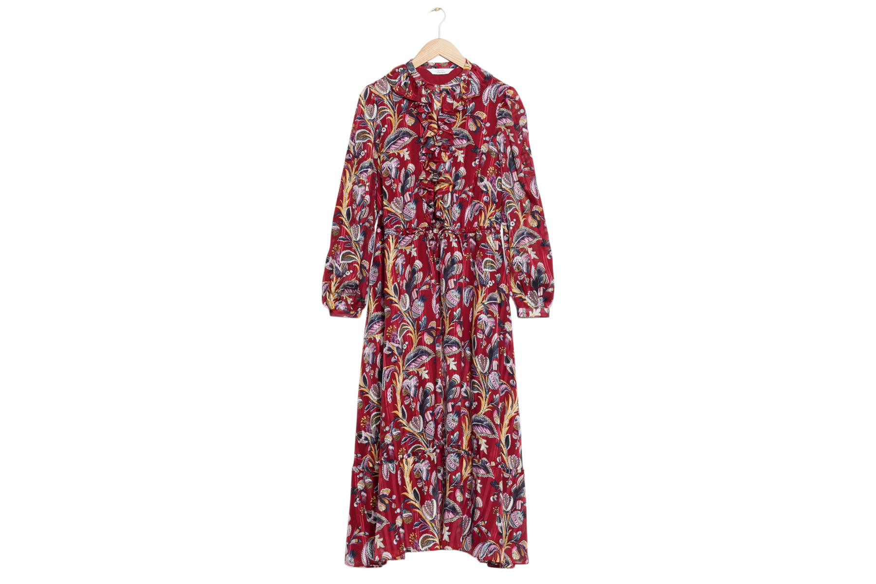 & Other Stories Floral Print Maxi Dress