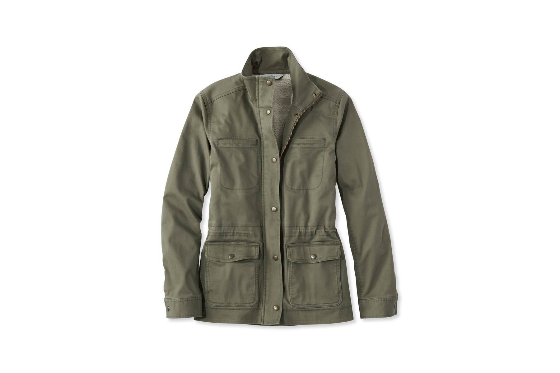 L. L. Bean Classic Sherpa-Lined Utility Jacket