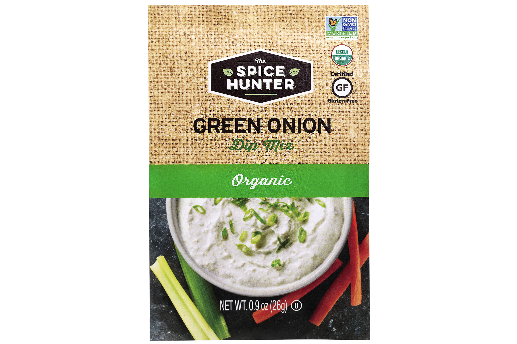 The Spice Hunter Organic Green Onion Dip Mix