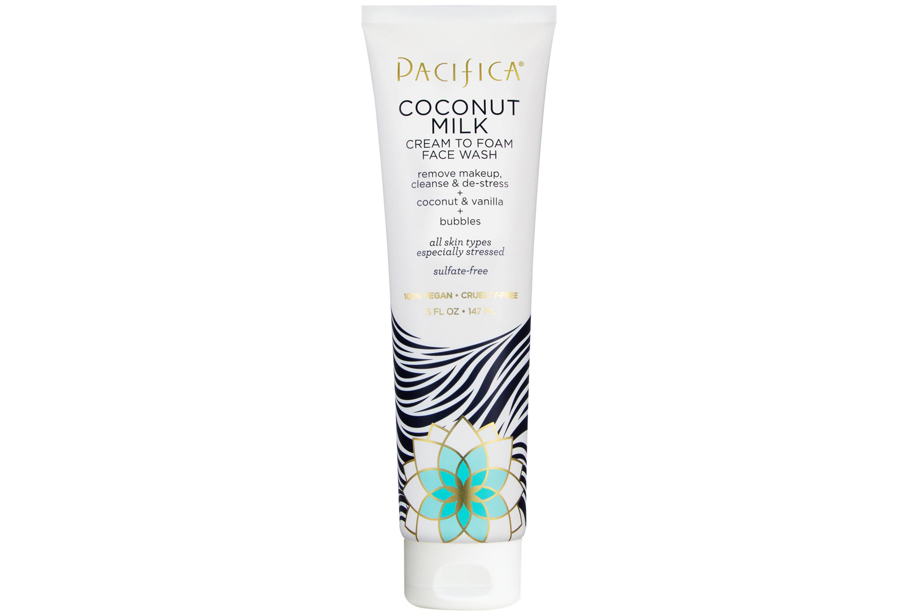 Pacifica Coconut Milk Cream to Foam Face Cleanser