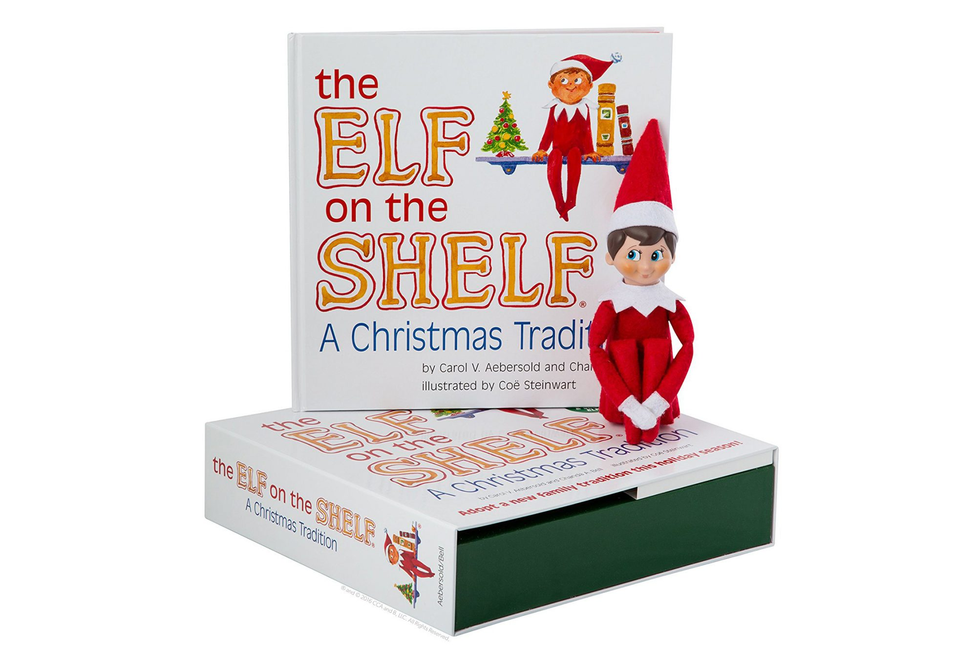 Elf on the Shelf: A Christmas Tradition, by Carol Aebersold and Chanda Bell