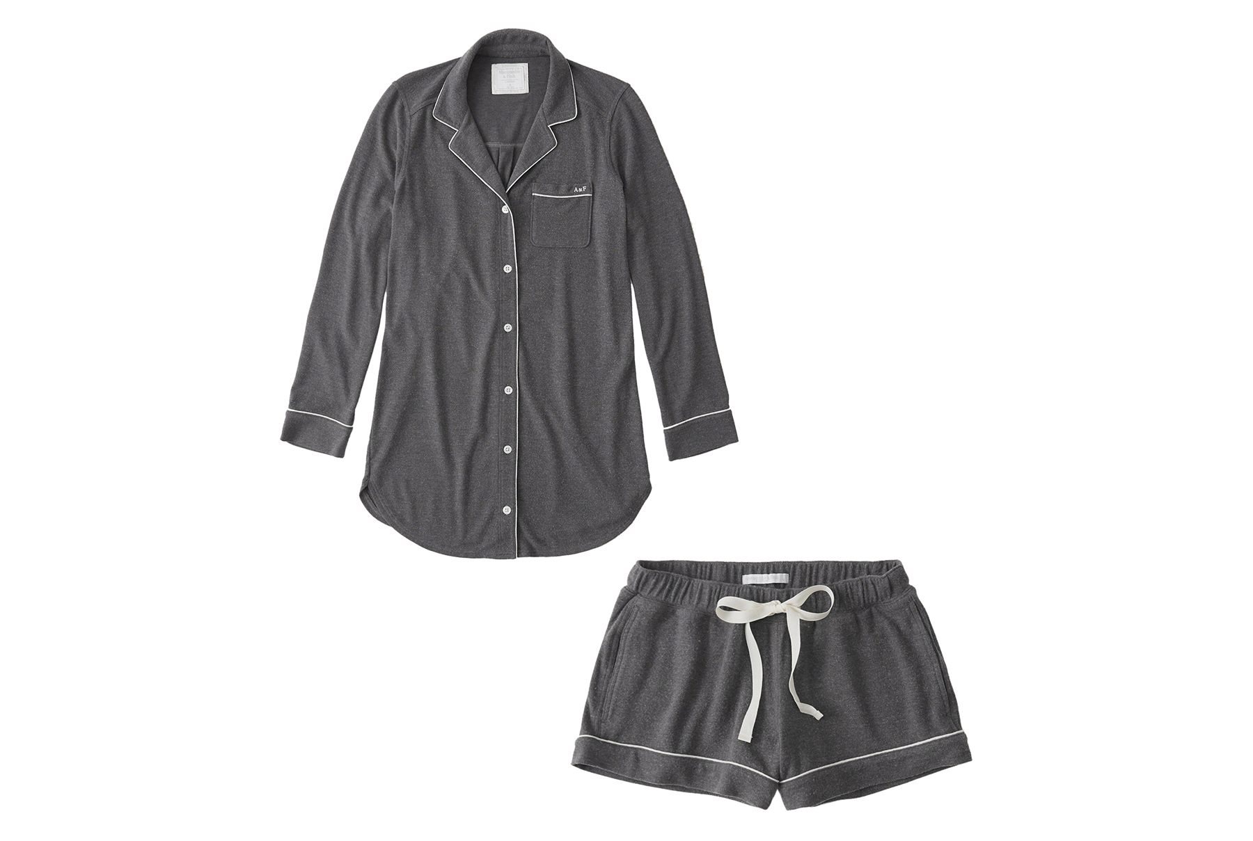 Abercrombie & Fitch Menswear Knit Shirt and Shorts