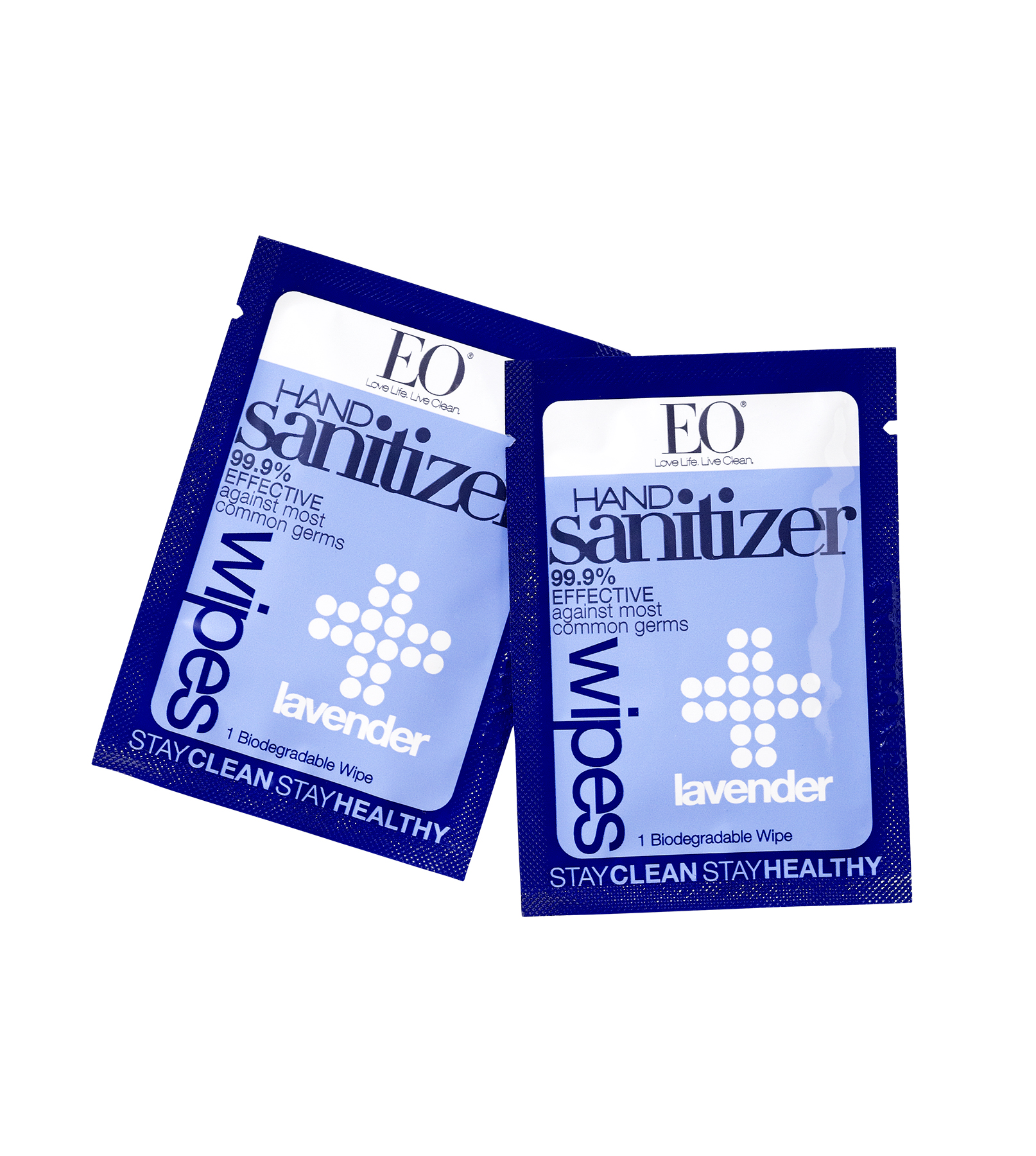 EO Lavender Hand Sanitizer Wipes