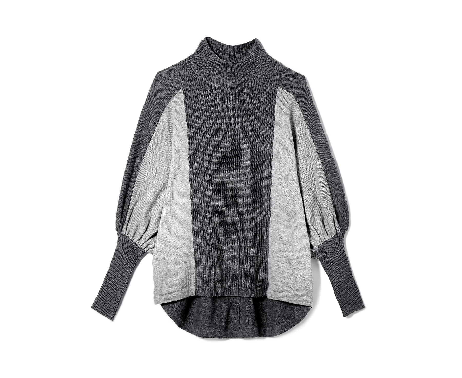 Vince Camuto Exaggerated Sleeve Colorblock Sweater