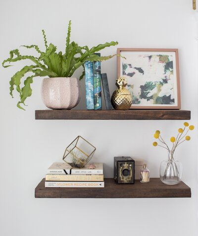 DIY Floating Shelves: How to Build Floating Shelves | Real