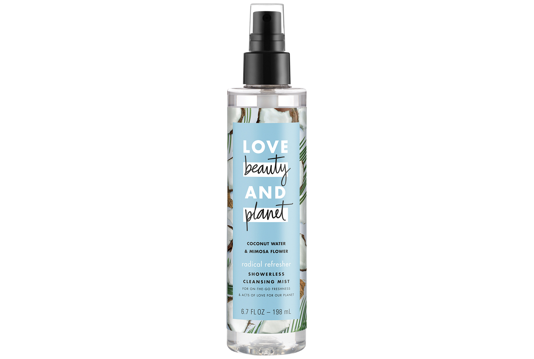 Love Beauty and Planet Showerless Cleansing Mist