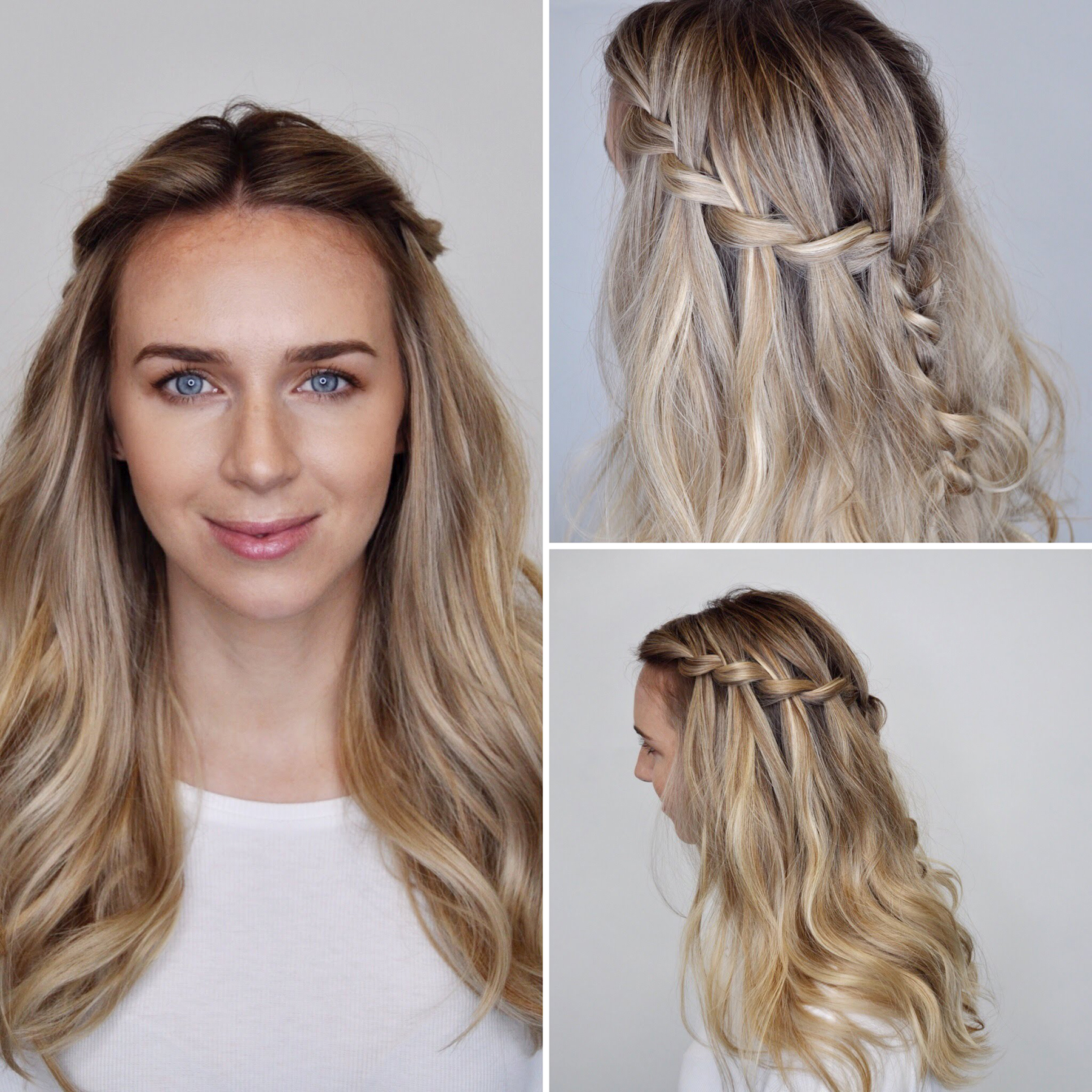 Miraculous How To Do A Waterfall Braid Real Simple Natural Hairstyles Runnerswayorg