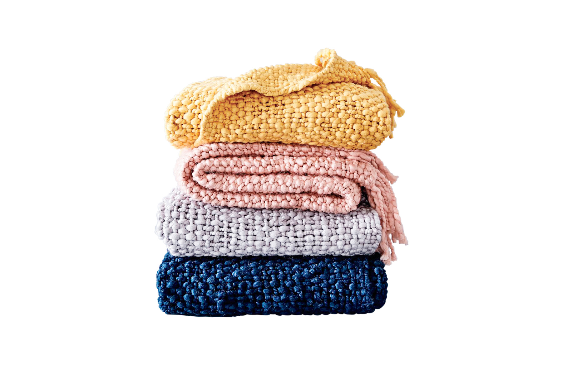 Solid Basketweave Throw (6 Essentials for a Cozy Bedroom)