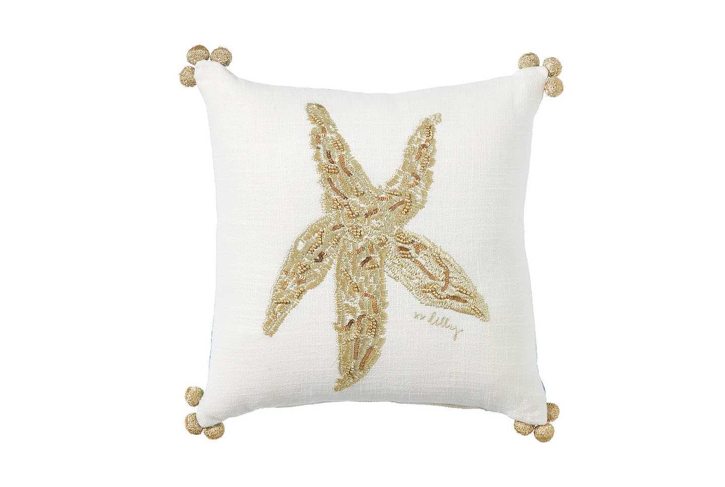 Lilly Pulitzer Seeing Stars Reversible Pillow