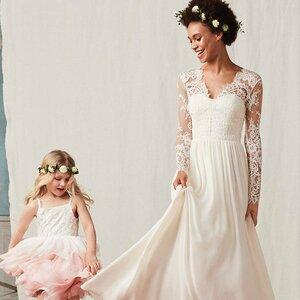 e38a77a9034b H&M Launched An Affordable Wedding Line—And You Won't Believe How