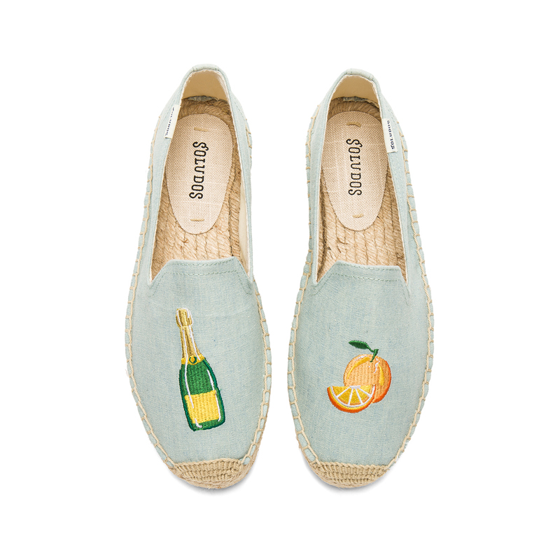 Soludos Mimosa Platfrom Smoking Slipper