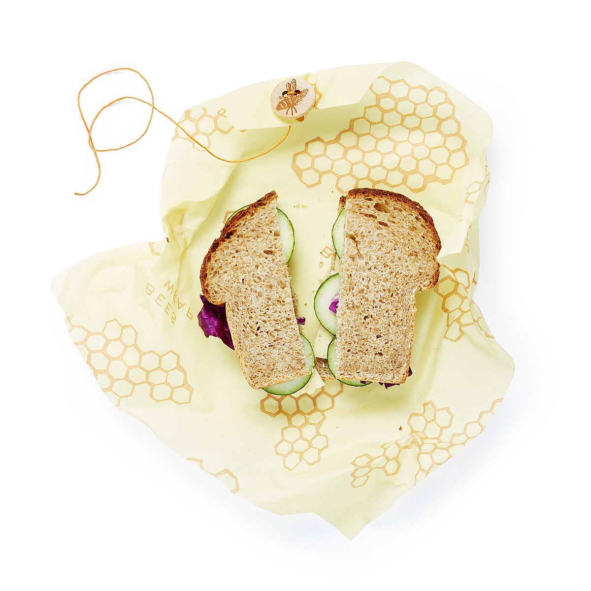Beeswax Reusable Sandwich Bags