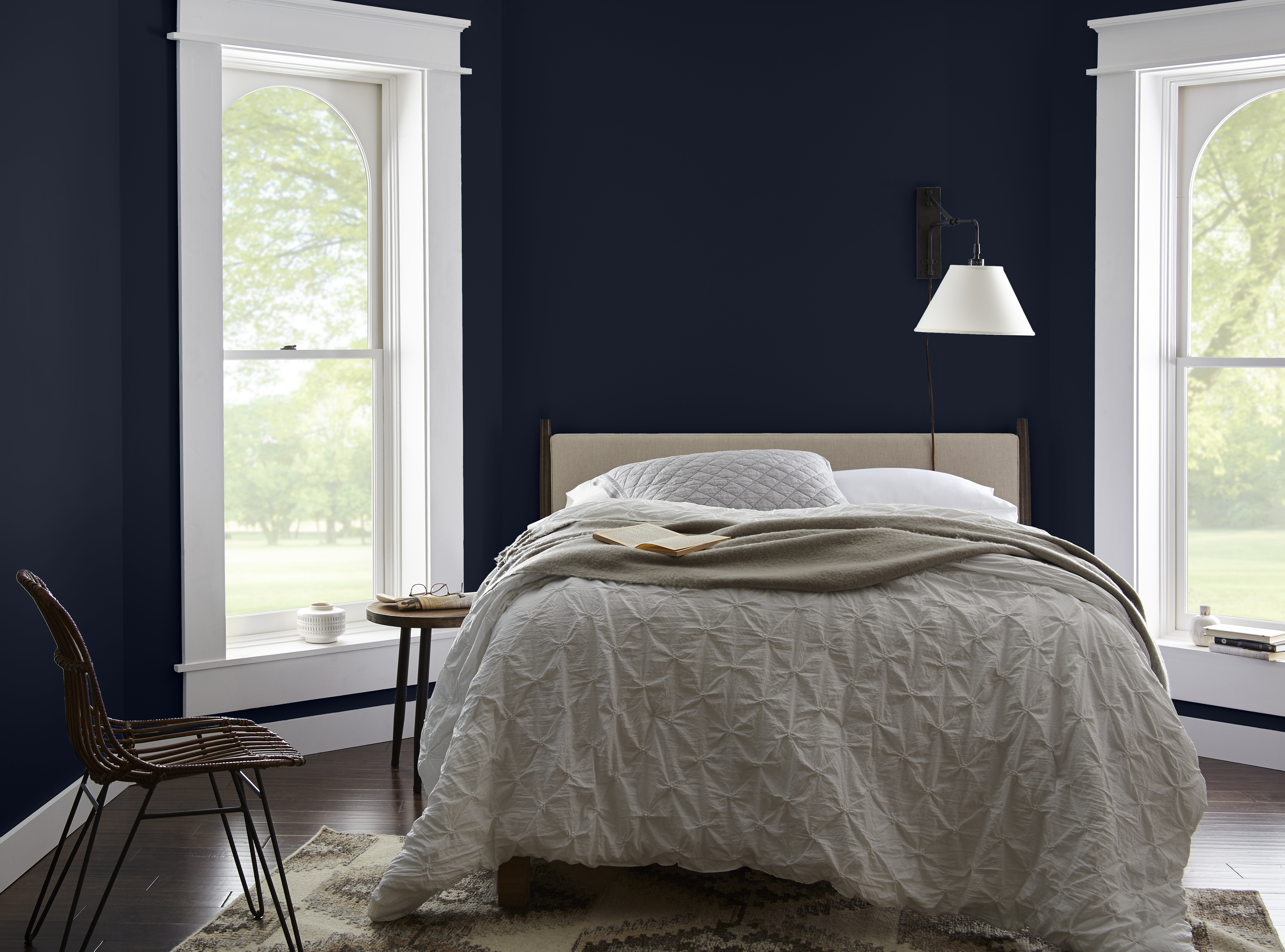 Behr Interior Paint Colors: Very Navy