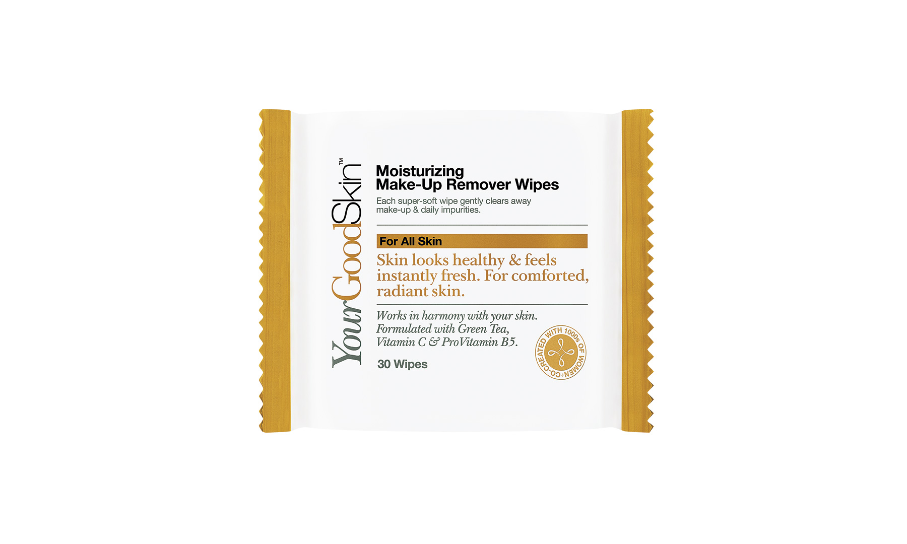 YourGoodSkin Moisturizing Make-Up Remover Wipes (1018BDI)