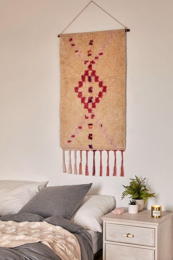Tufted Checks Tapestry