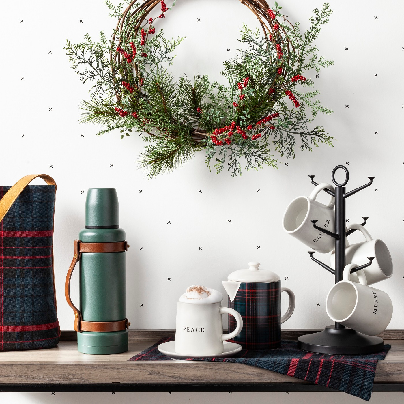 Target Red Berry Wreath