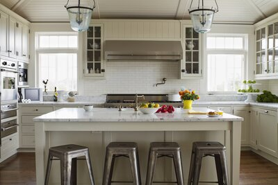 5 Kitchen Trends That Will Be Huge in 2019 | Real Simple on cabinets above stove, lighting above stove, backsplash behind stove, tile mural above stove, subway tile above stove, decorative tile above stove, microwave above stove, accent tile above stove,
