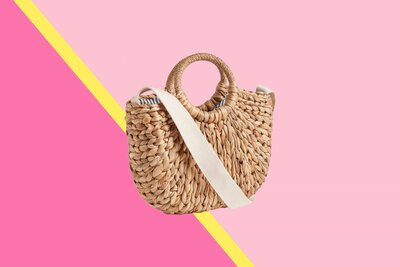191fea2ea2e3 17 Straw Bags, Totes, Beach Bags, and Clutches Under $100 | Real Simple