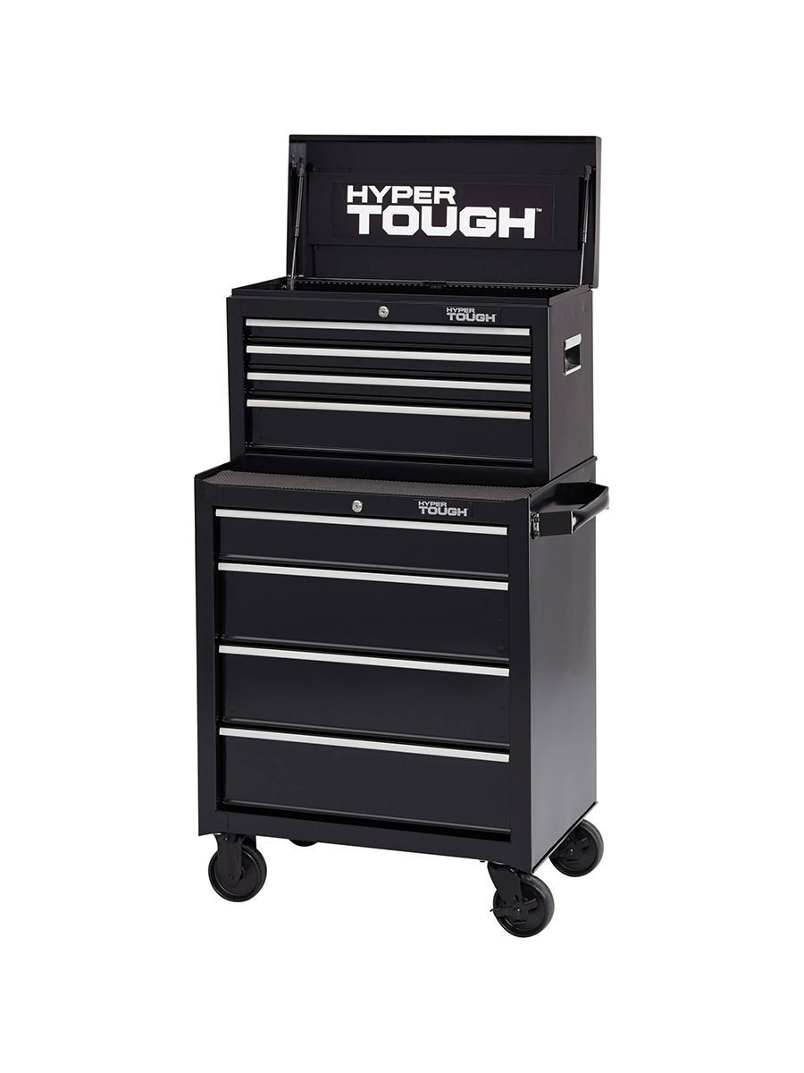 Hyper Tough Four-Drawer Rolling Tool Cabinet