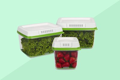 Rubbermaid FreshWorks Produce Saver Review | Real Simple