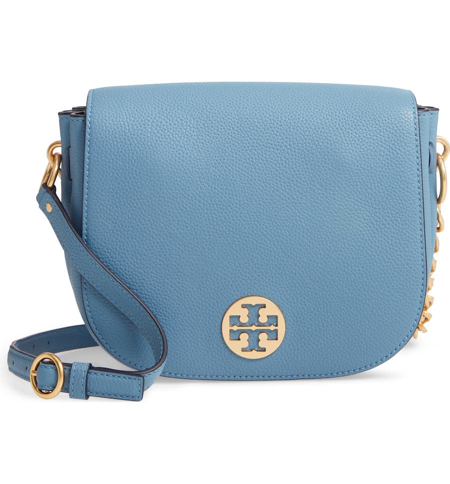 Tory Burch Leather Flap Saddle Bag (Nordstrom Anniversary Sale Handbags)