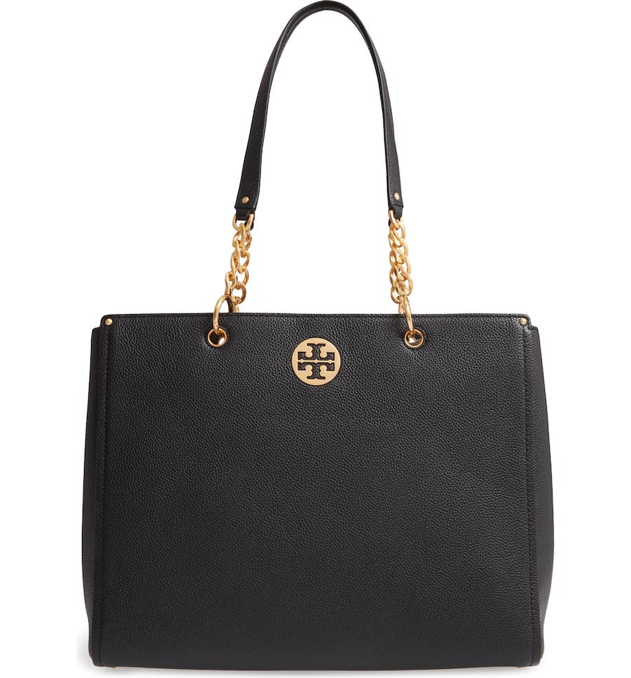 Tory Burch Everly Leather Tote (Nordstrom Anniversary Sale Handbags)