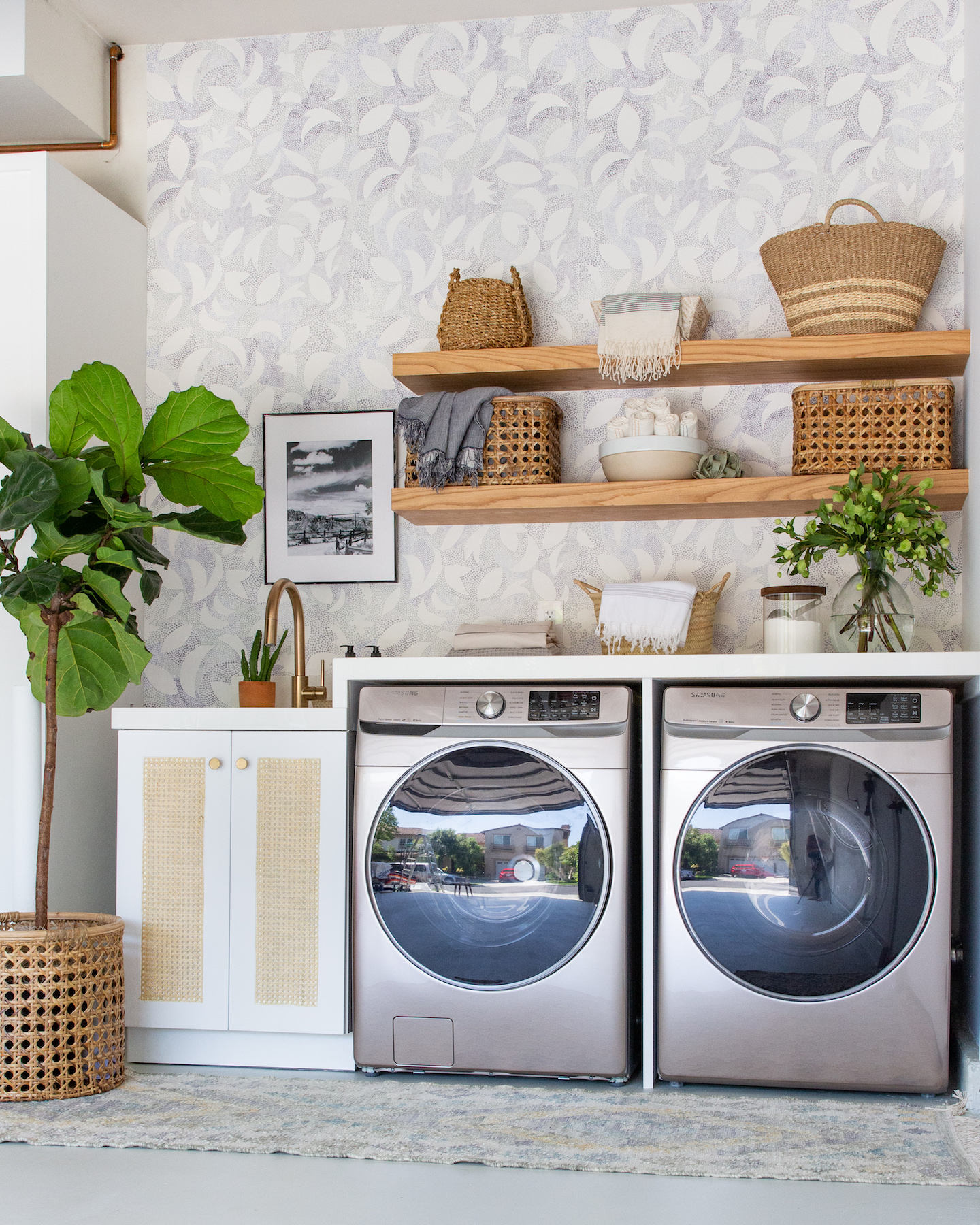 Design Ideas From A Gorgeous Garage Turned Laundry Room
