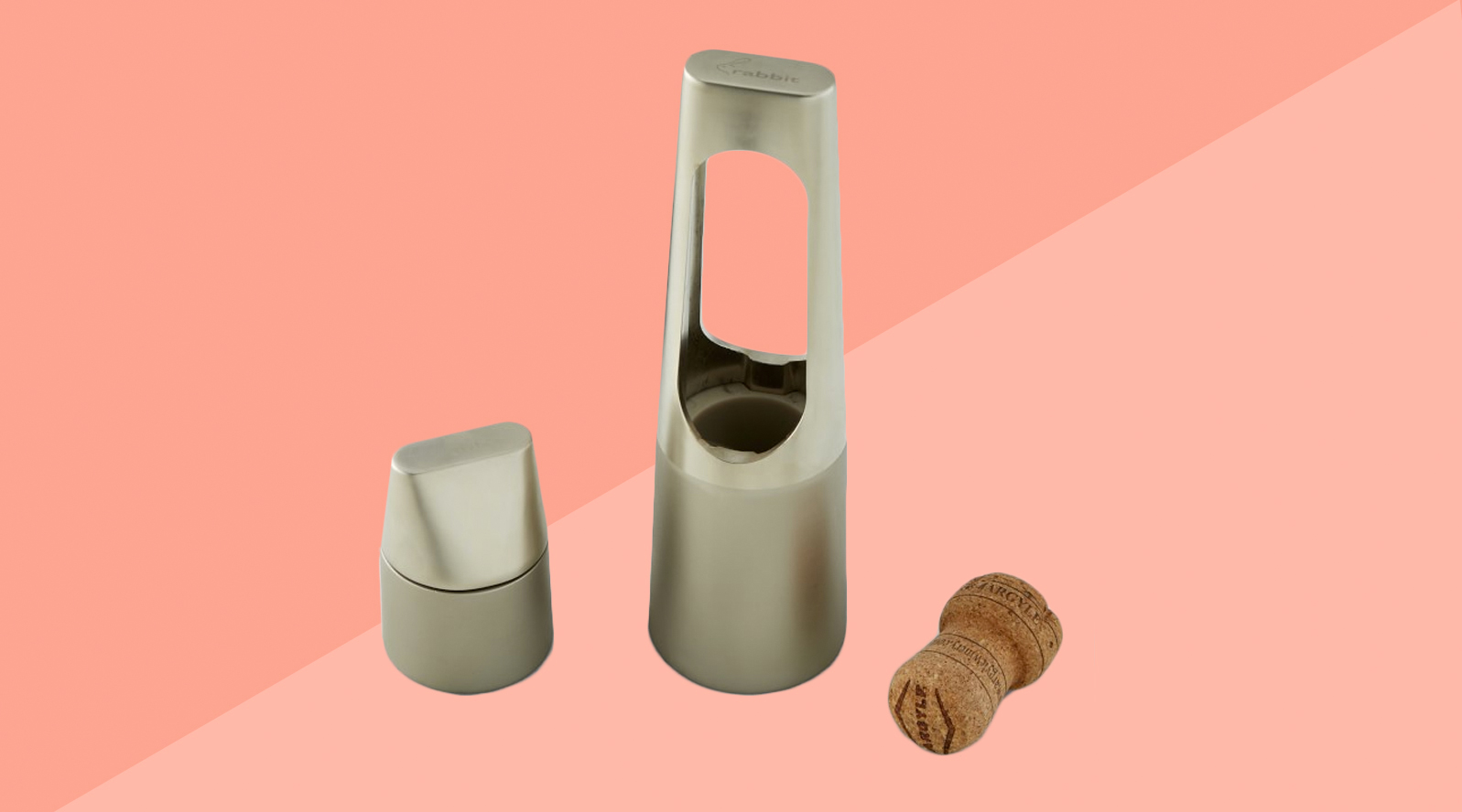 6 Clever Items 12/13/19 - Rabbit Champagne Set tout