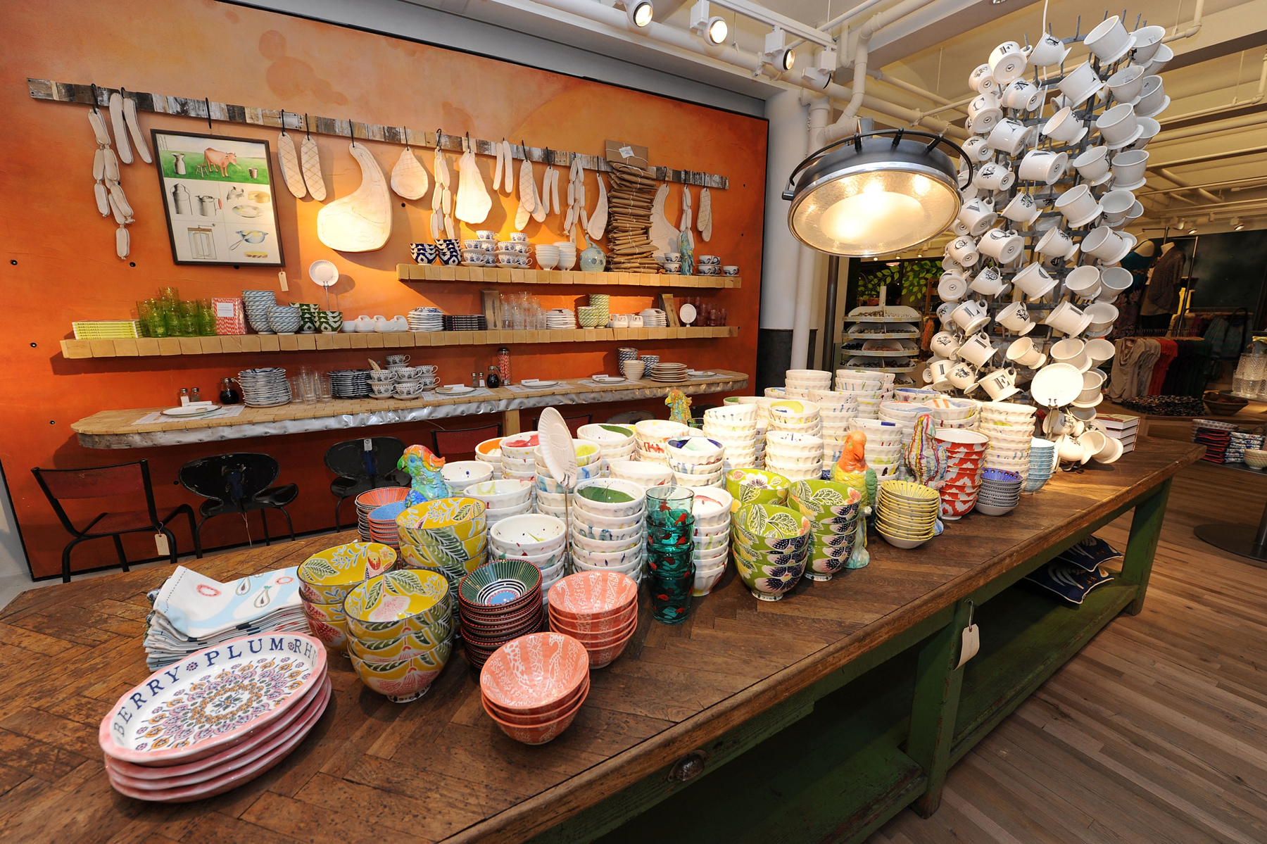 Anthropologie shopping secrets - Anthropologie home area in store