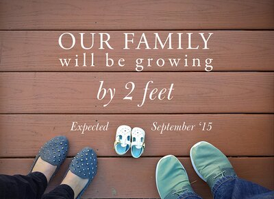 ae26df78aa5 Pregnancy Announcements You'll Want to Steal   Real Simple