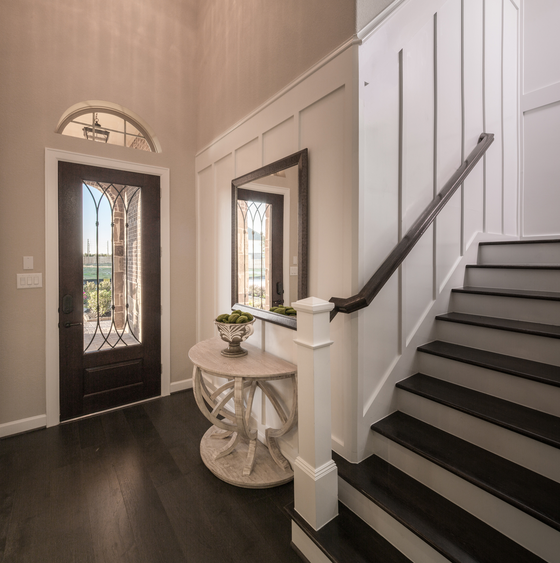 Board and batten interior ideas - wainscoting