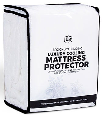 Brooklyn Bedding Luxury Cooling Mattress Protector