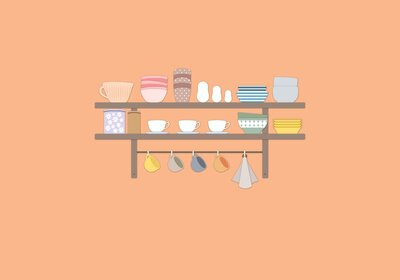 8 Smart Kitchen Coffee Bar Ideas | Real Simple
