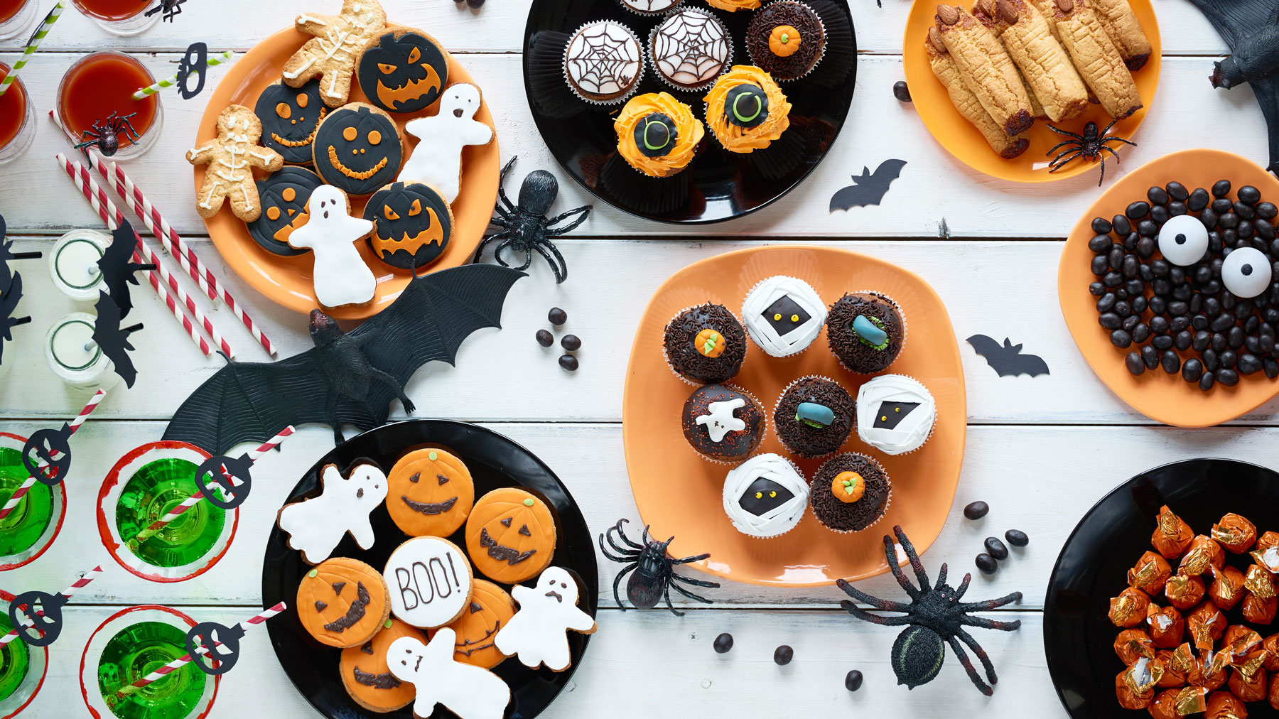 Halloween party checklist - Halloween party planning food