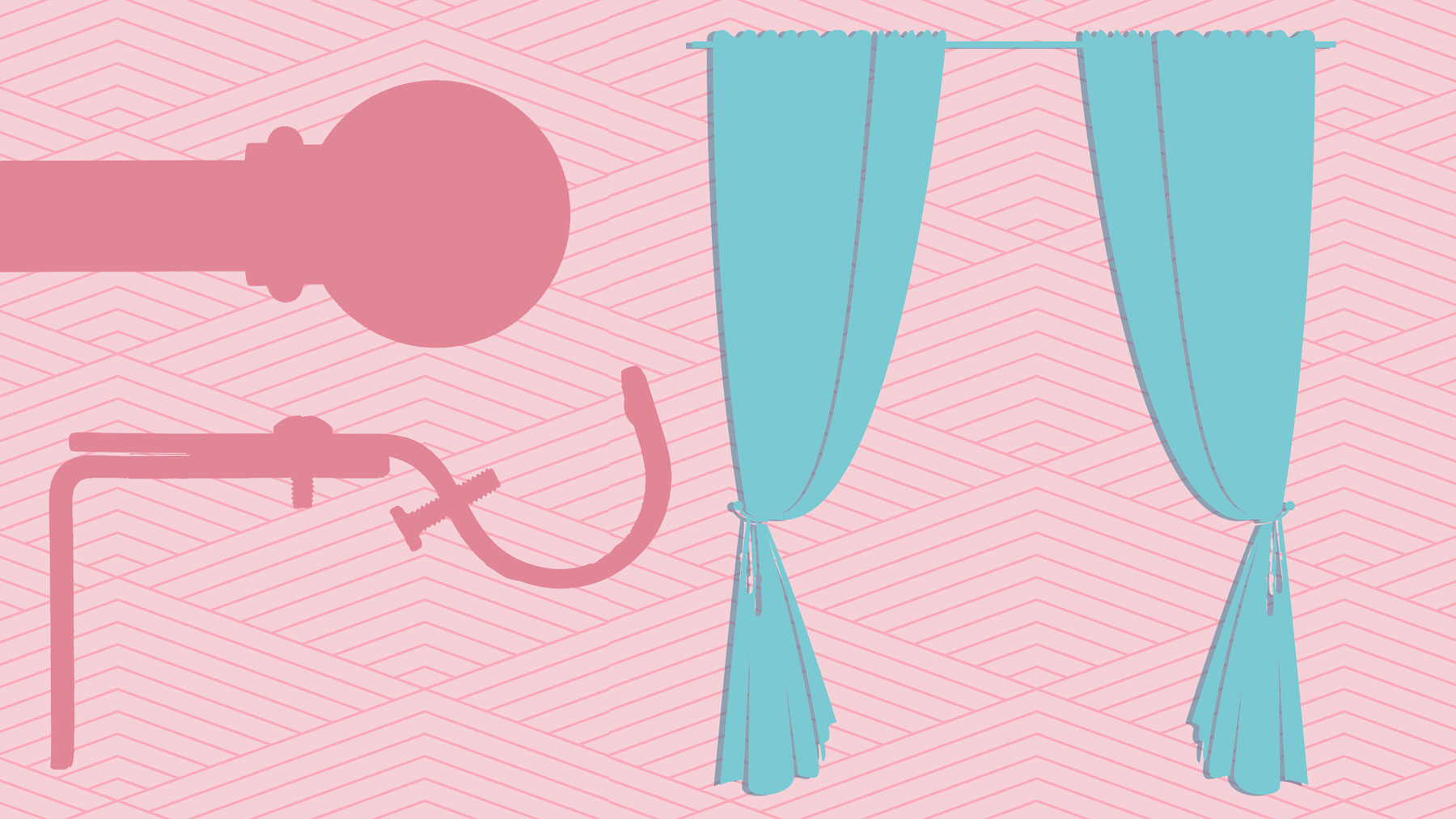Hanging curtains - must-have tools for hanging curtains
