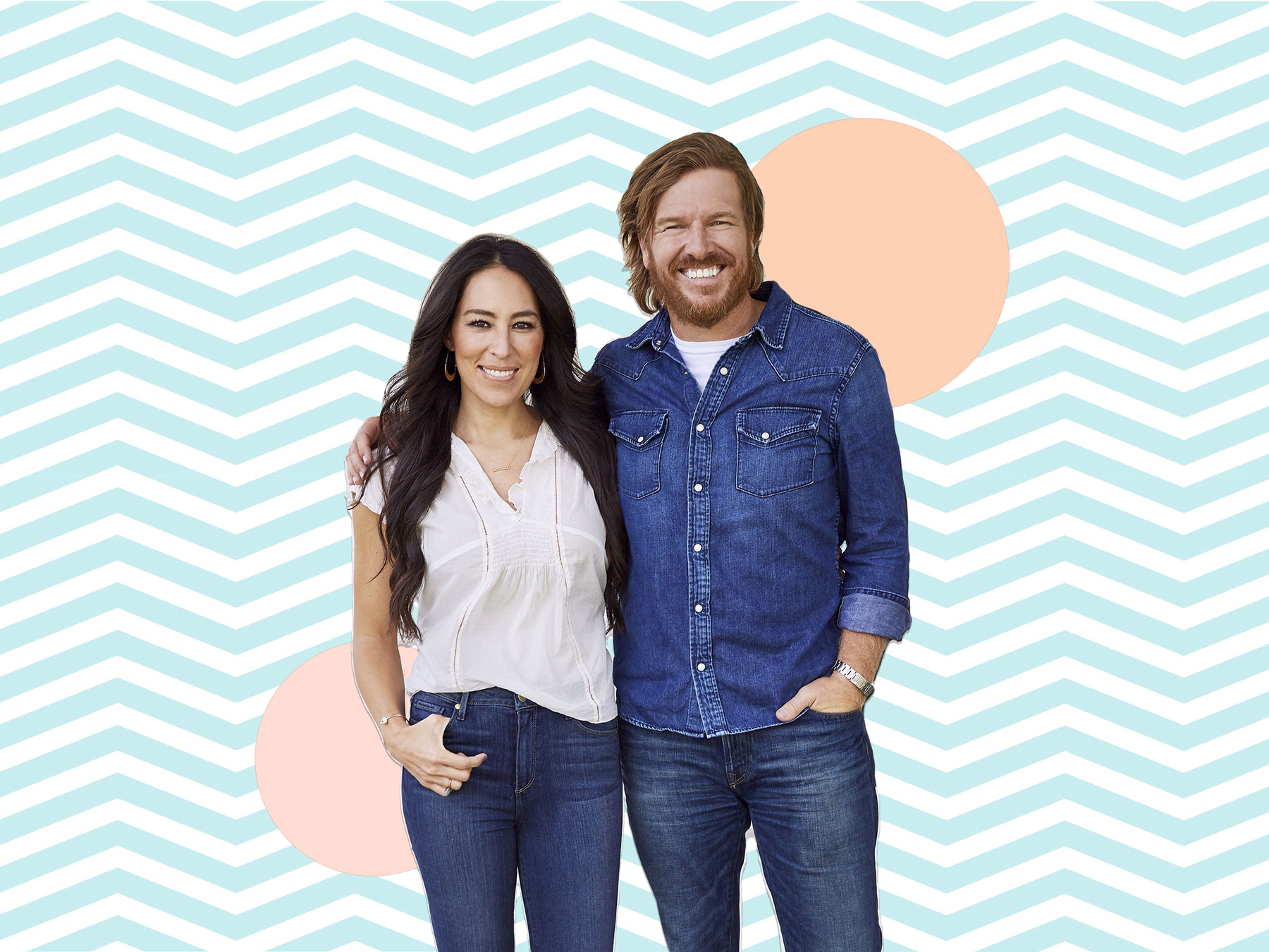 Chips Et Joanna Gaines how old are joanna gaines and chip gaines? | real simple