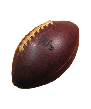 Handmade Leather Football (silo)