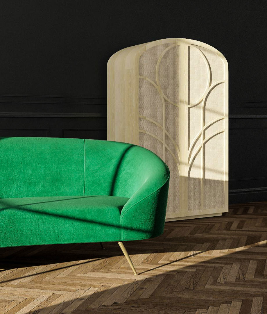 2019 Design Trends from Modsy - Curved Furniture