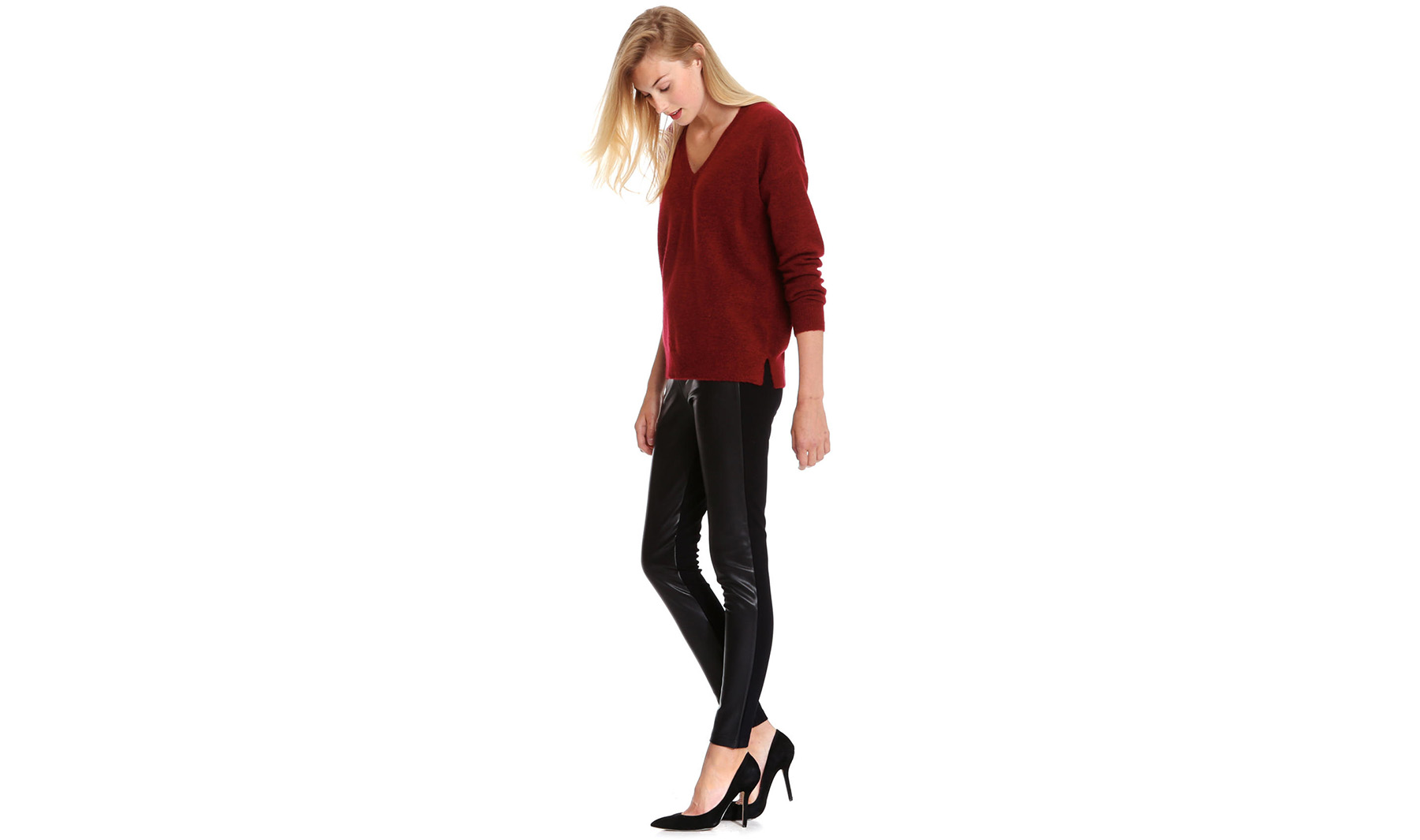 Joe Fresh Faux Leather Legging