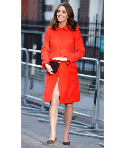 b281490d Get the Look: 5 Affordable Alternatives to Kate Middleton's Chic Scarlet  Coat
