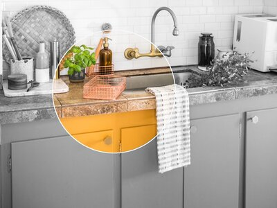 This Colorful Kitchen Makeover Proves the Power of Paint ...