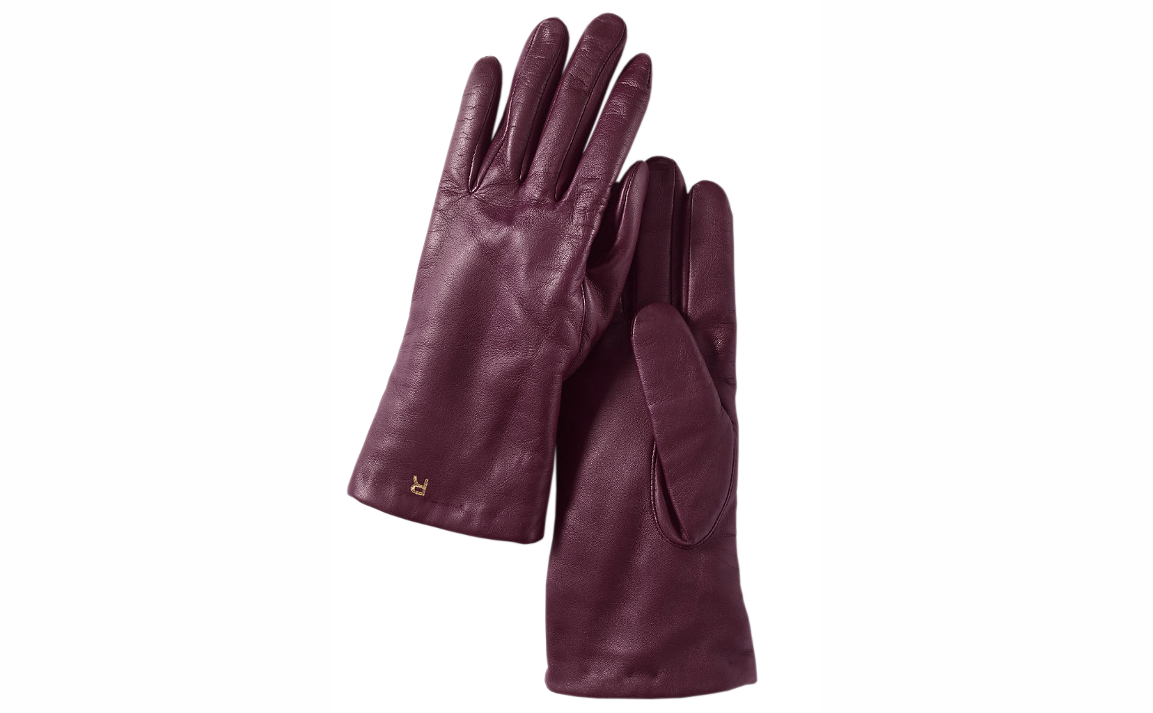 Land's End Women's Luxe Leather Gloves