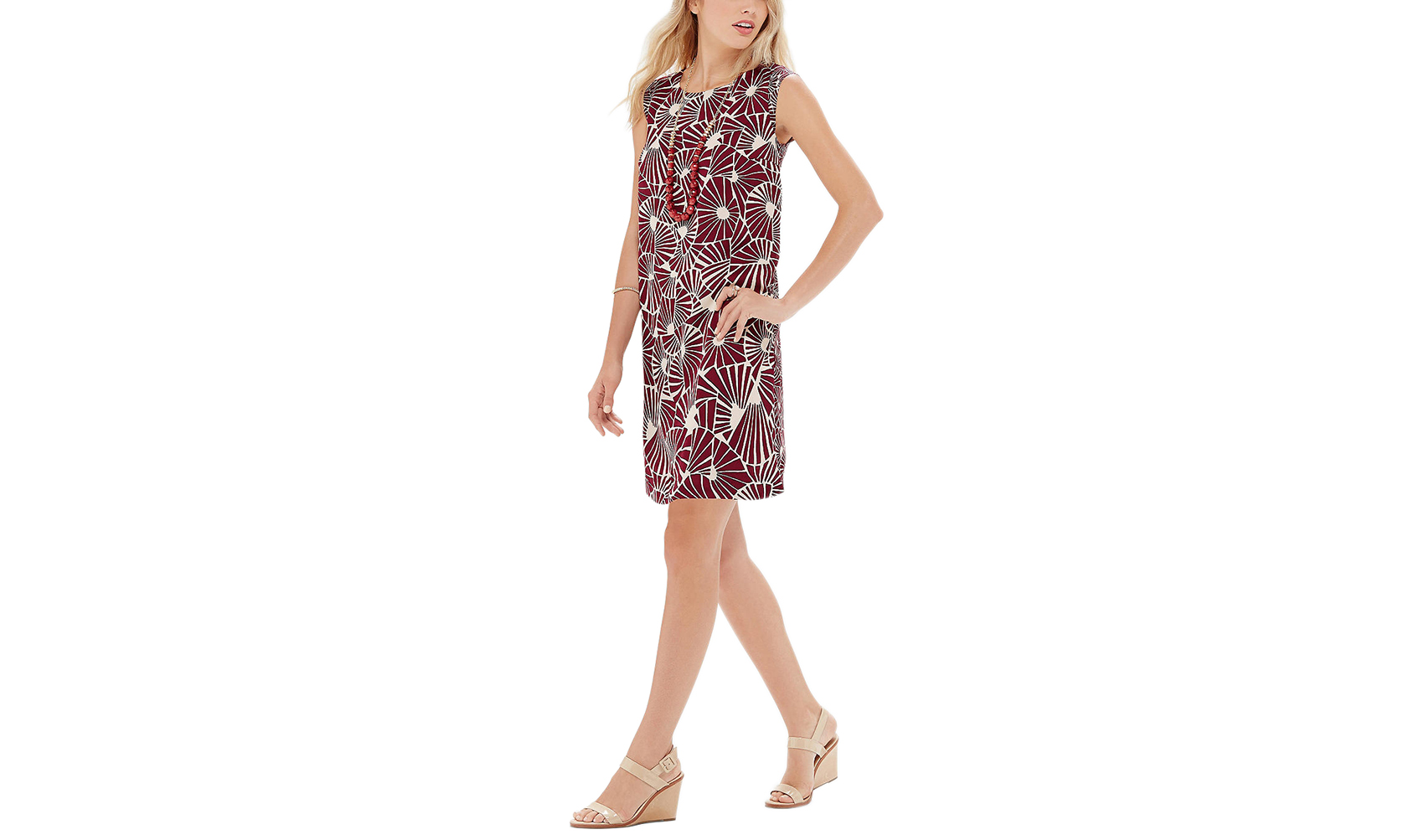 The Limited Printed Shift Dress