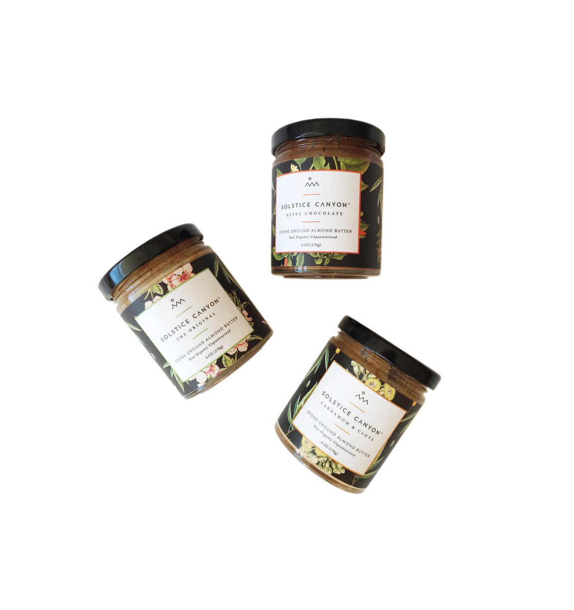 Solstice Canyon Almond Butter Gift Trio