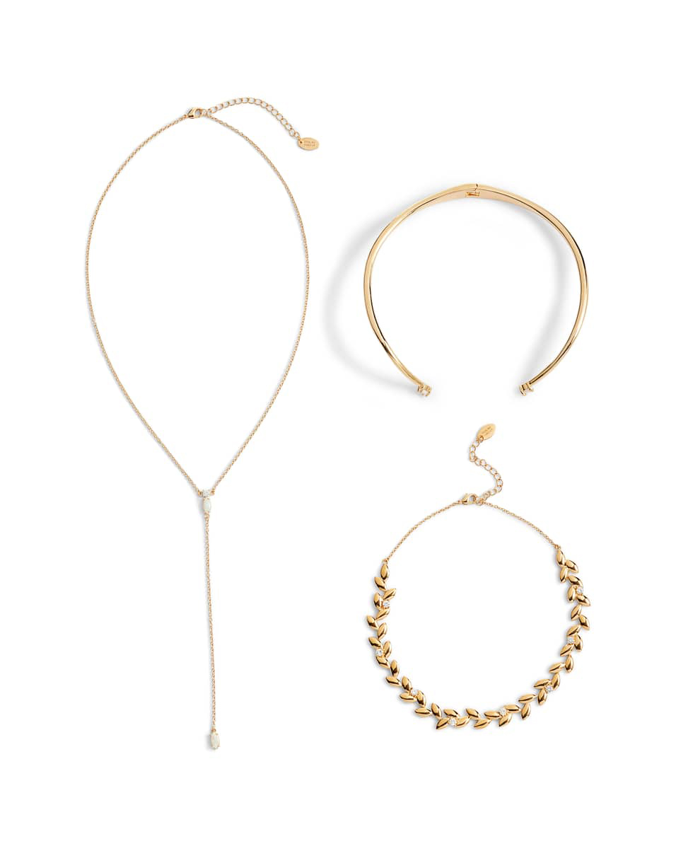 Sterling Forever Hearts On Fire Set of 2 Chokers & Lariat Necklace
