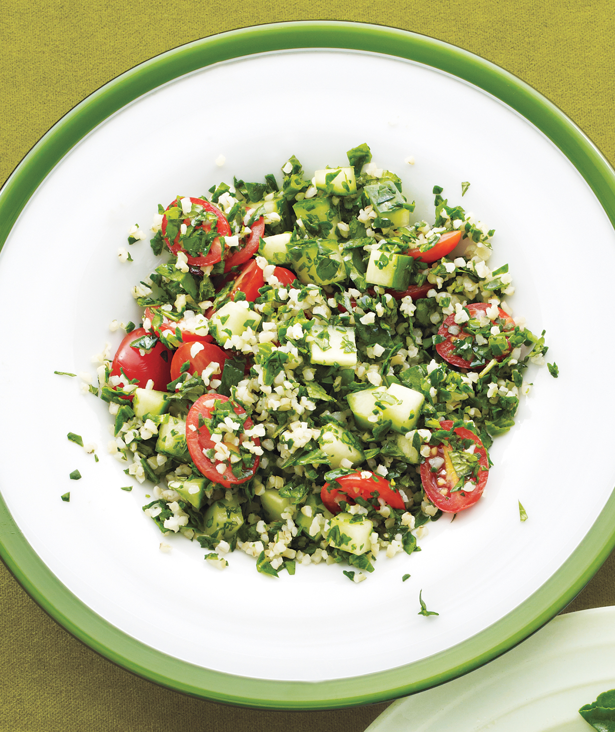 Spinach Tabbouleh